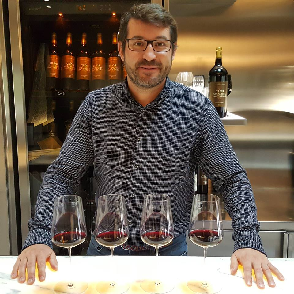 Guillaume Pouthier, manager of Les Carmes Haut Brion since 2012